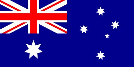 Australia flag official symbol of the state