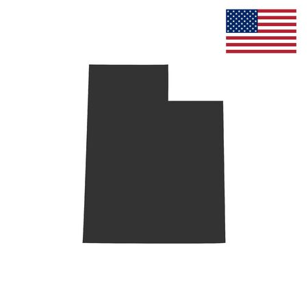 federated: map of the U.S. state of Utah