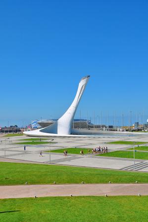 Sochi, Russia Sochi Olympic Park Stock Photo
