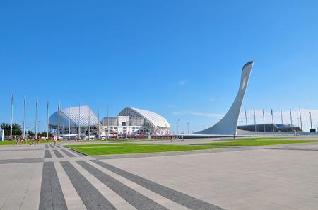 Sochi, Russia - July 6 2017 Sochi Olympic Park Editorial