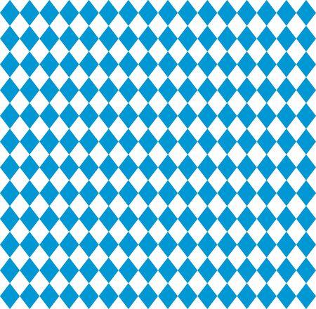 Oktoberfest Bavarian flag symbol background Ilustração