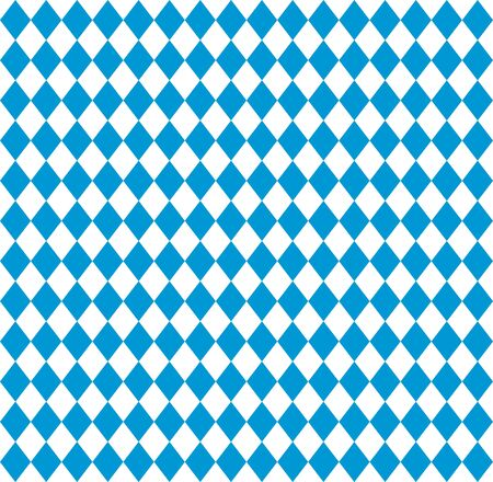 Oktoberfest Bavarian flag symbol background Illustration