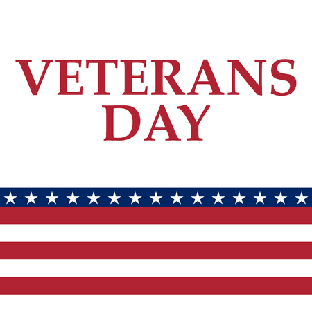 Veterans Day in the United States of America.