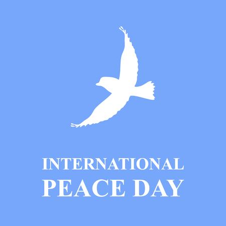 Peace Day illustration Illustration