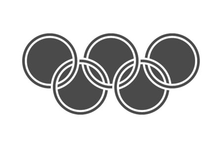 Round symbols icon. graphic design illustration, vector