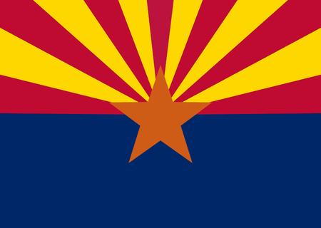 US state of Arizona flag icon