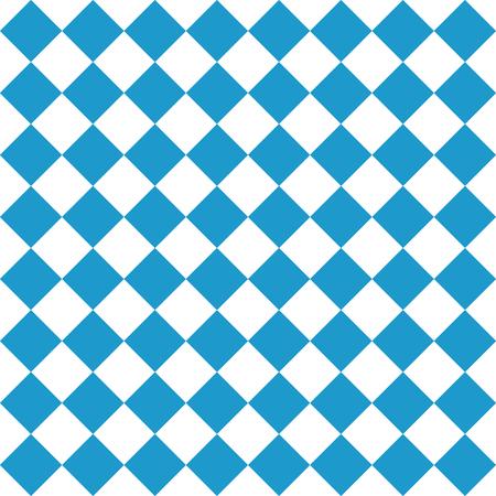 Oktoberfest Bavarian flag symbol background Illustration