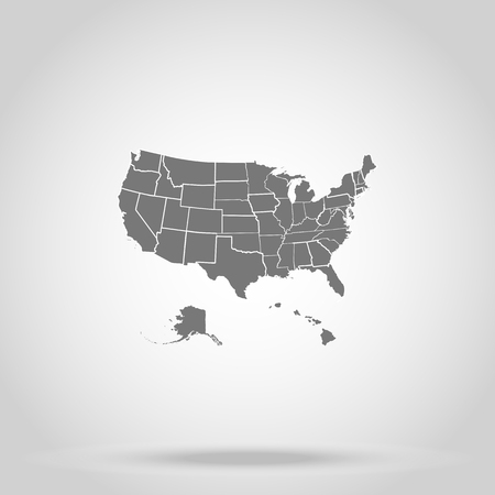 US states of America