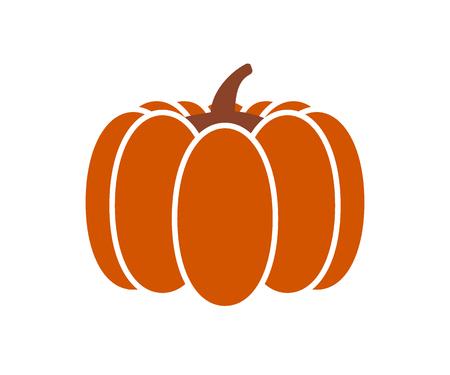 Halloween pumpkin on a white background vector illustration