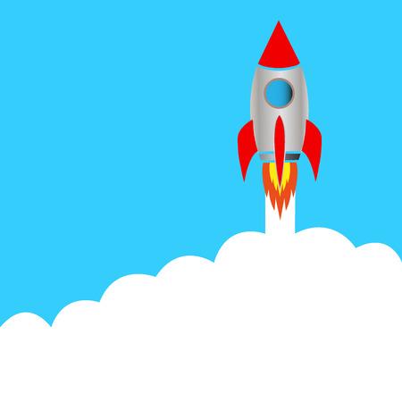 Start space rocket