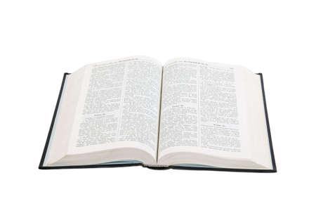 bible ouverte: Ouvrez le livre