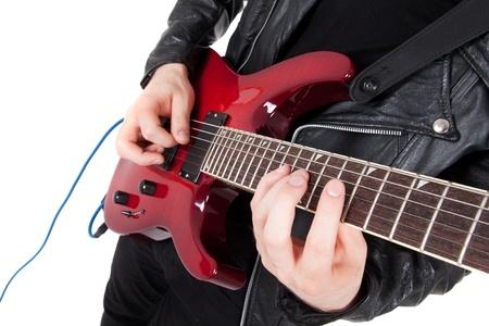 playing guitar 写真素材