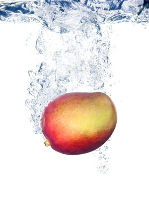 Mango in water