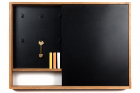 doorlock: blackboard and key