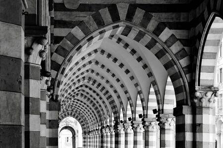 ancient architecture: ancient architecture gallery in Genoa, Italy