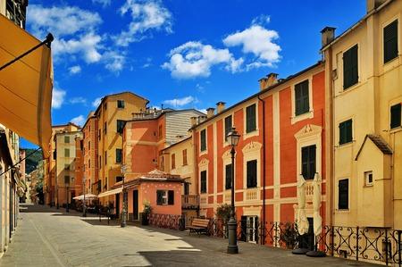 old city: italian old city street