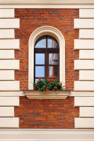 old window: old window with flowers