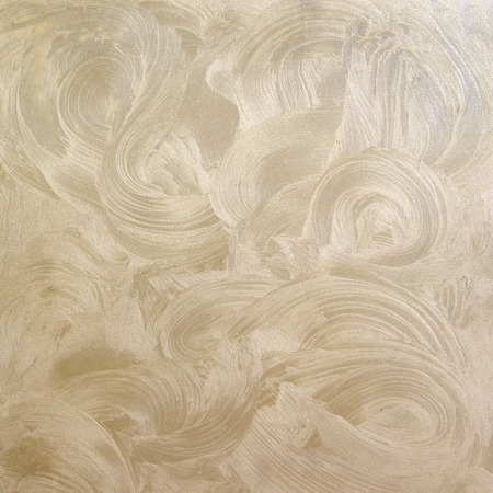 decorative beige plaster with pearl effect and handmade