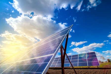 Solar energy panel power system, and sunshine