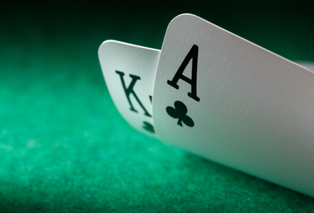 poker: Two playing cards
