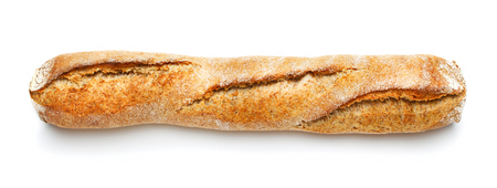 crust crusty: baguette Stock Photo