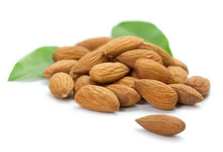 heap of almonds 스톡 콘텐츠