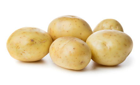 heap of potatoes isolated on white background 스톡 콘텐츠 - 108354708