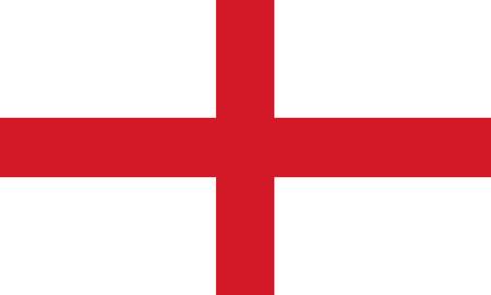 Flag of England Reklamní fotografie