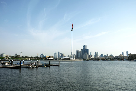 Dubai beautiful bay Фото со стока