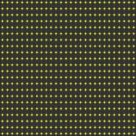 synchronous: Synchronous with yellow stars on a dark background