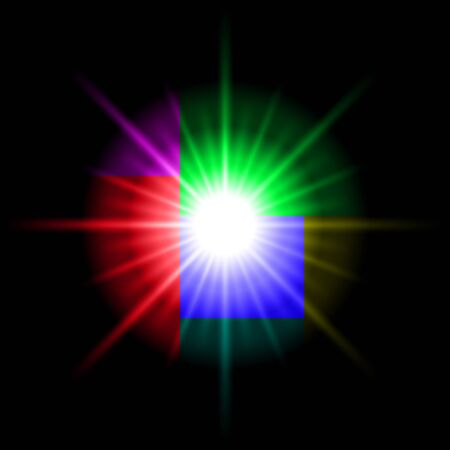 star background: Colored star. Abstract Space background for design.