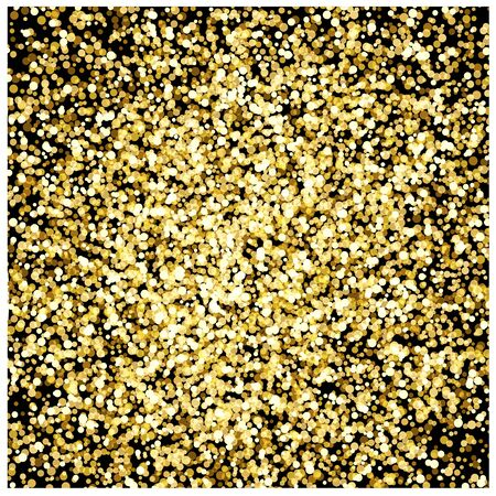 Gold dust - vector for stock