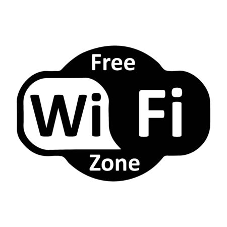 Wifi internet icon - vector