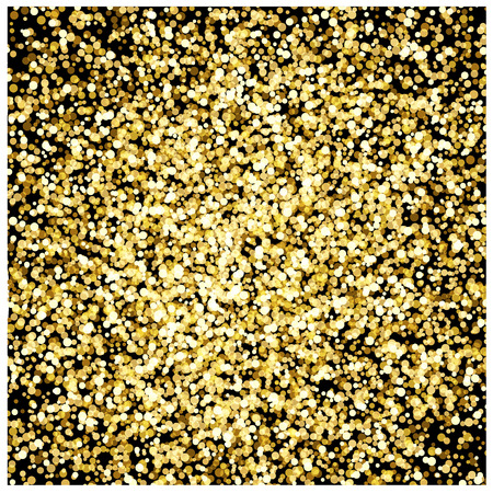 Gold glitter background seamless stock Vector illustration.