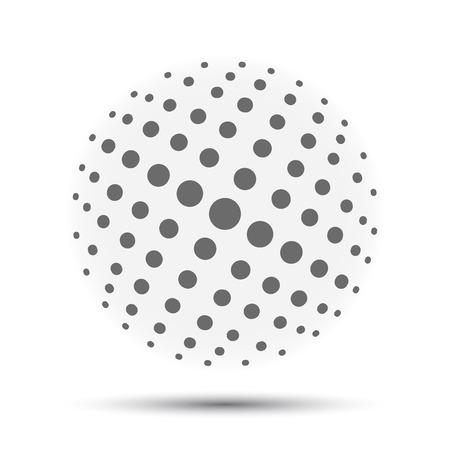 Black globes vector Иллюстрация