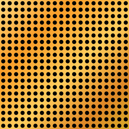 Gold texture hole – vector