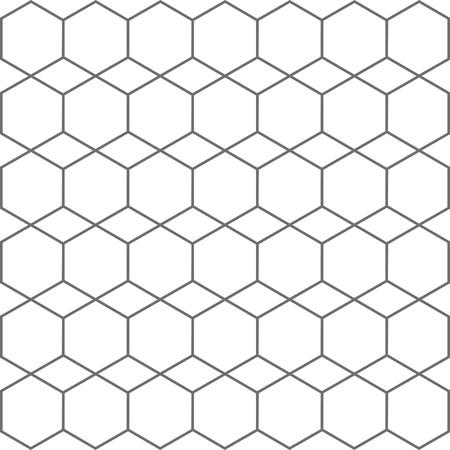 Hexagon geometric texture – stock vector