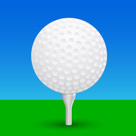 Golf ball – vector Иллюстрация