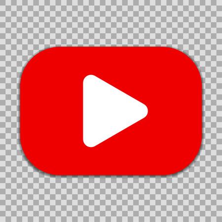 Bouton du lecteur vidéo - pour le stock