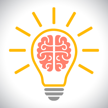 Idea, creative concept - vector