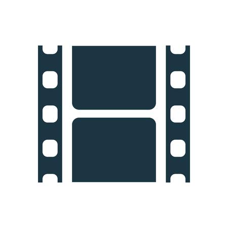 Cinema tape icon - stock vector