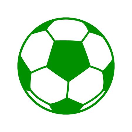 Soccer ball, football icon – for stock