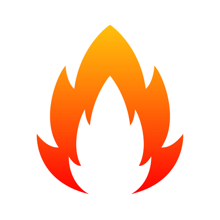 Fire design - stock vector