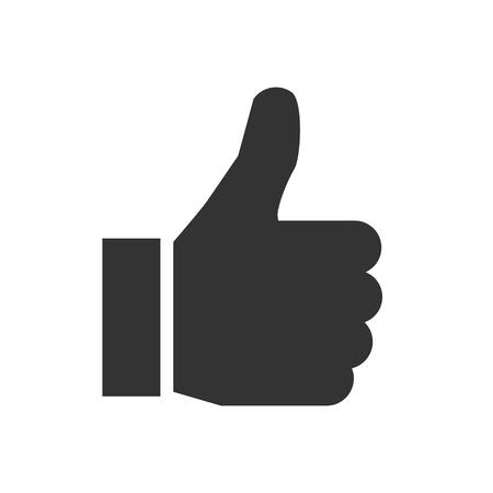 Thumb up, i like it, Yes – vector