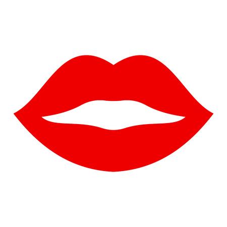 Kiss lip - vettore di stock