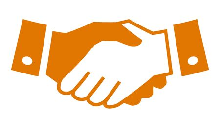 Handshake, partnership icon ? stock vector