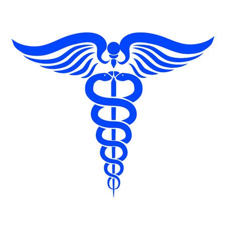 Caduceus medical symbol Stockfoto - 102153304