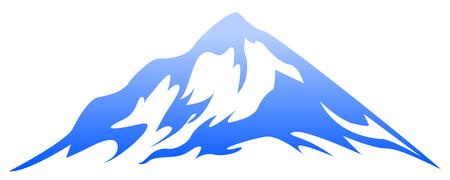 Blue mountain 일러스트
