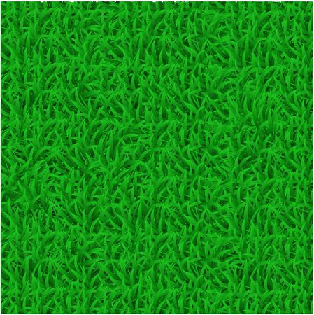 Green grass mat