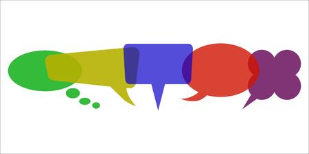 Set icons communication